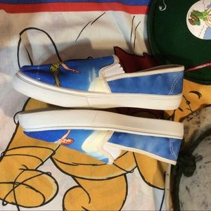 Disney Shoes - Peter Pan Disney Sneaker Shoes Wendy Tinkerbelle